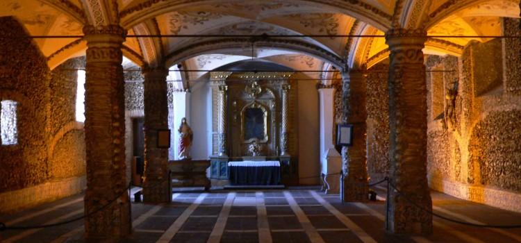 The Chapel of Bones, Capela dos Ossos in Évora