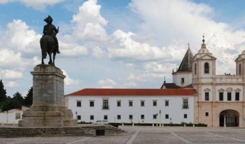 Convent of St. Agostinho, in Vila Viçosa